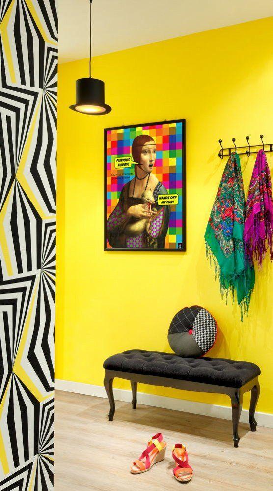 Plakat - DAMA Z GRONOSTAJEM - PUNK PARROT - Plakaty i odzież z kolorem i humorem, czasem horrorem ;)