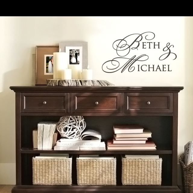 Could work with re-purposed entertainment center?!?