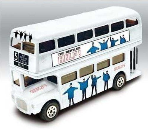 "Corgi - ThE BeAtLeS ""HelP"" Album Theme Route Master Double Decker Bus Detailed Diecast 1:50 Scale Collector by Corgi. $38.99. Detailed Diecast. Collectible. 1:50 Scale. Corgi - ThE BeAtLeS ""HelP"" Album Theme Route Master Double Decker Bus Detailed Diecast 1:50 Scale Collector"