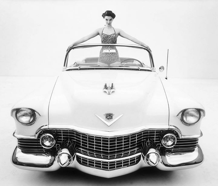 A car that helped define a decade  the 1954 Cadillac Eldorado. #TBT - photo from cadillac #FieldsCadillac #Jacksonville #FieldsCadillacJ #Florida