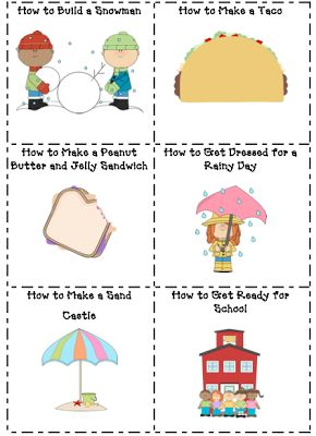 VERY CUTE great for sequencing