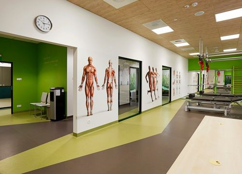 Enel-Med clinic, rehabilitation room