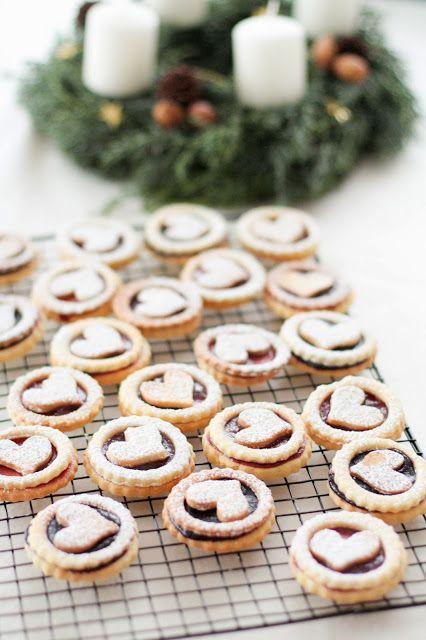 Sablés de Noël à la confiture : les Spitzbuebe