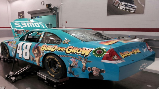 Jimmie Johnson To Sport A Madagascar Themed Paint Scheme At Dover