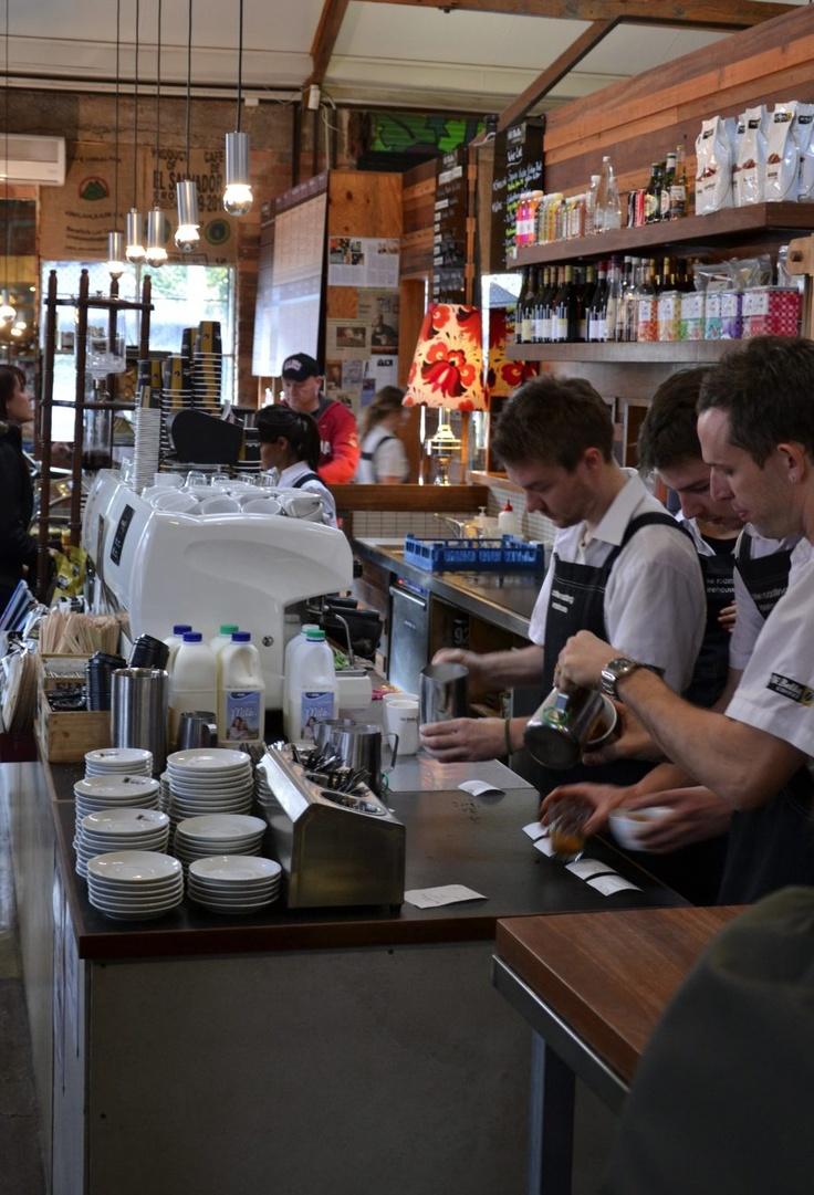 The beautiful De Bella in North Melbourne - best coffee in town