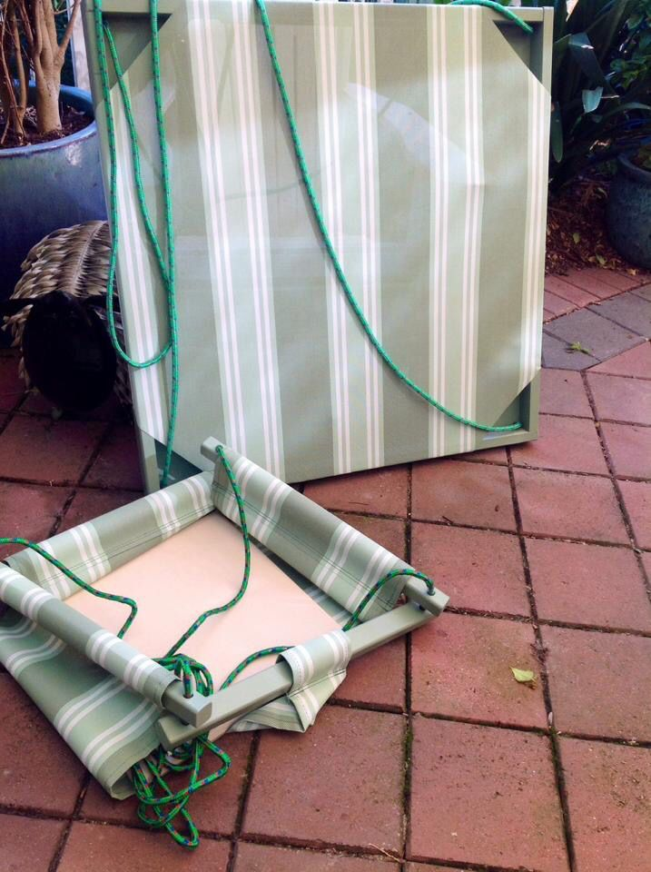 Bucket Seat swing with Twirly Whirly   Find us on Facebook