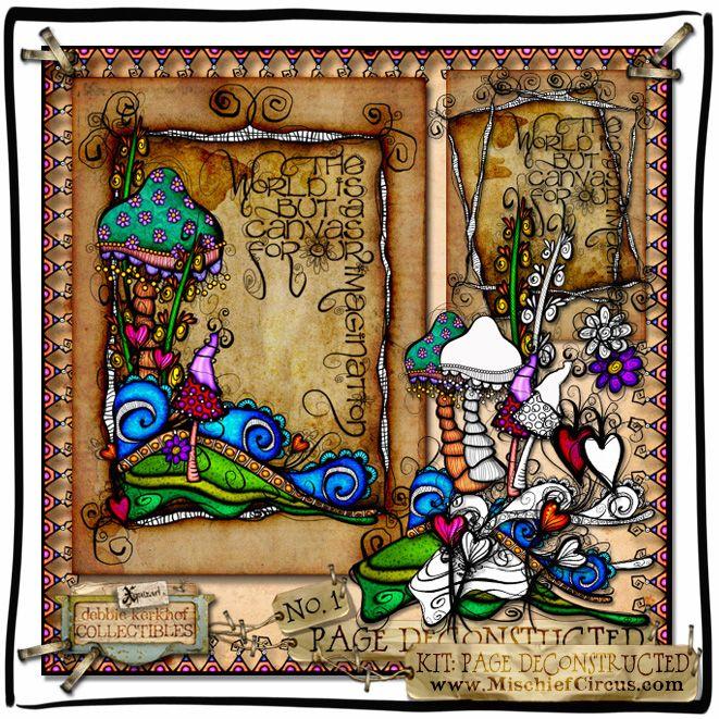 artwork using Xquizart digital graphics