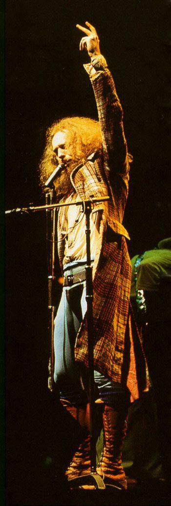 "Ian Anderson ""Fantastic LIVE Spotlight photograph ... Jethro Tull !"""