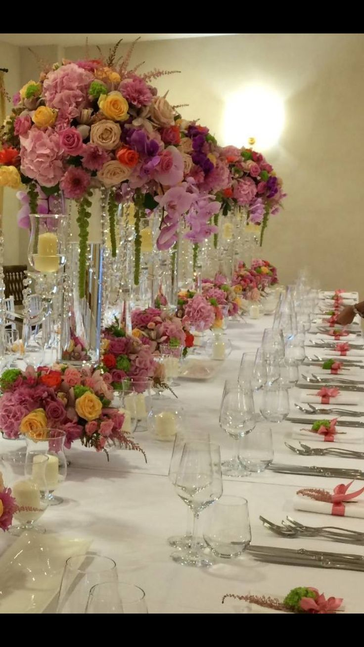 Table decoration luxury style