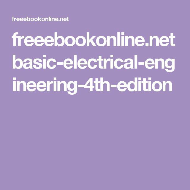 freeebookonline.net basic-electrical-engineering-4th-edition