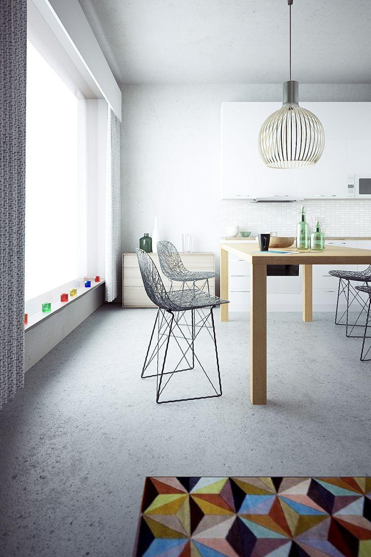 Kitchen renovation 3D visualization