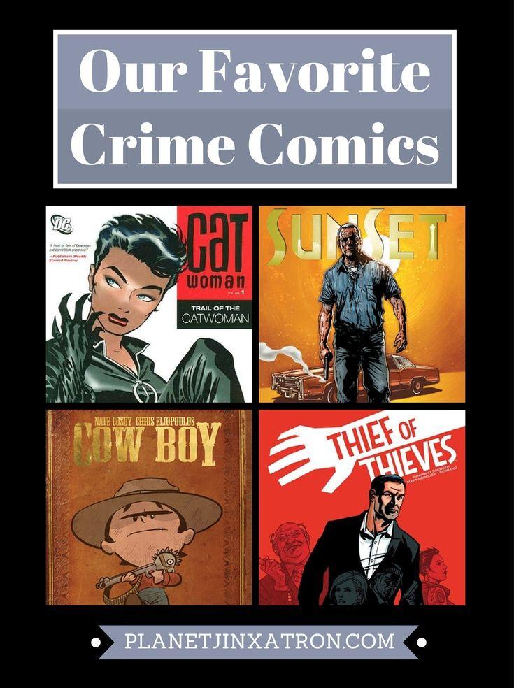 Our favorite crime comics and graphic novels - Planet Jinxatron