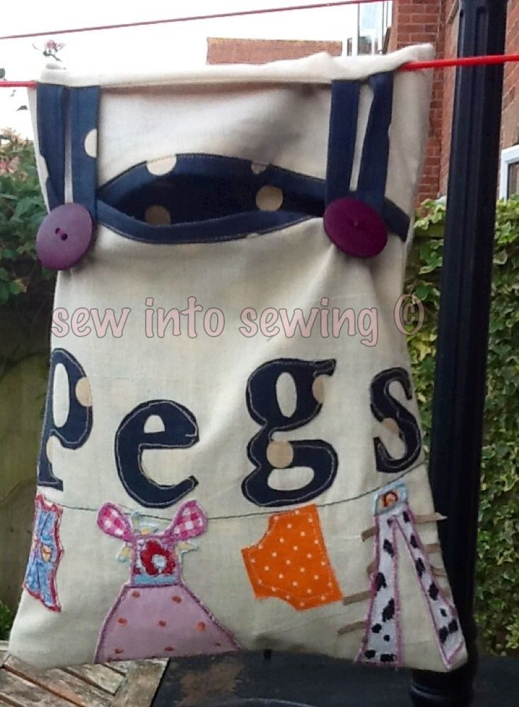 18 best Bags for pegs images on Pinterest | Sewing ideas, Peg bag ...