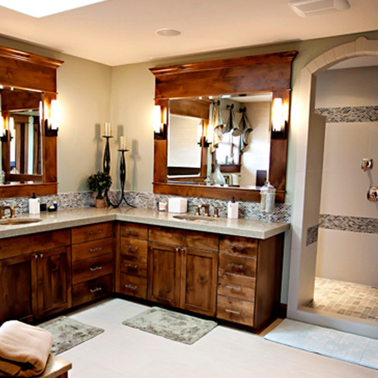 17 Best Ideas About Framed Bathroom Mirrors On Pinterest
