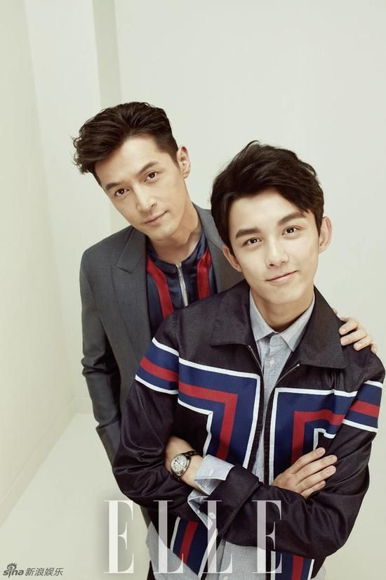 Nirvana in Fire's Adorable Bromance of Hu Ge and Wu Lei Goes Modern for Elle China February Edition | A Koala's Playground