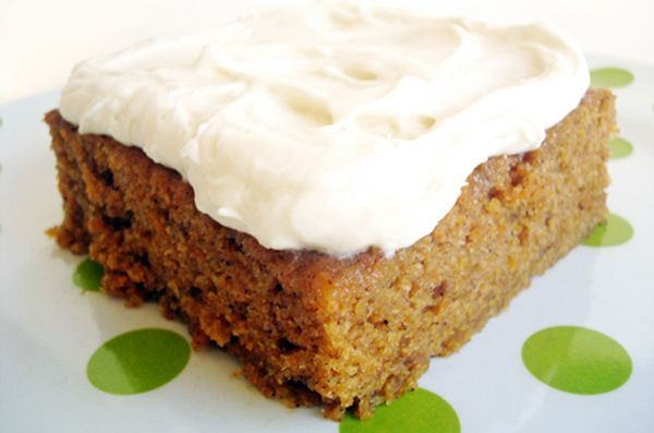 ... Kitchen Cafe | Carrot Sheet Cake with Whipped Cream Cheese Frosting