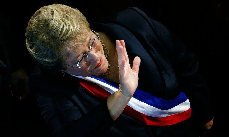 Michelle Bachelet asumió -por segunda vez- como Presidenta de Chile. (11/marzo/2014)