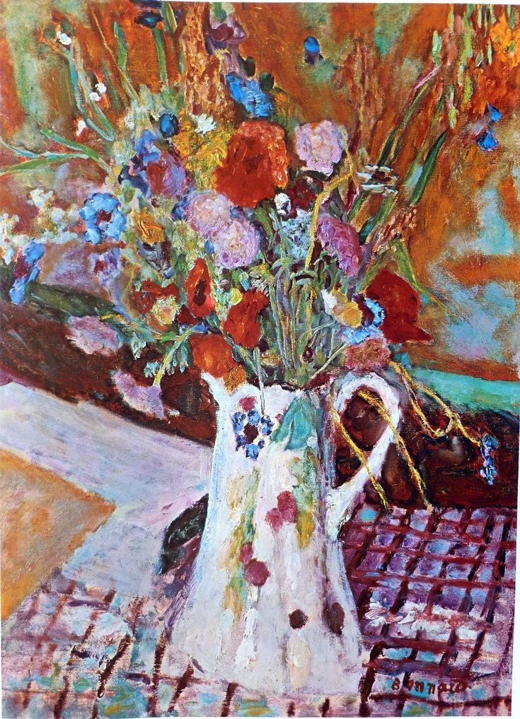 Bouquet De Fleurs, por Pierre Bonnard