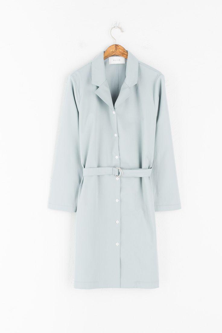 Olive - Belted Shirt Dress, Mint, £69.00 (https://www.oliveclothing.com/p-oliveunique-20170327-019-mint-belted-shirt-dress-mint)