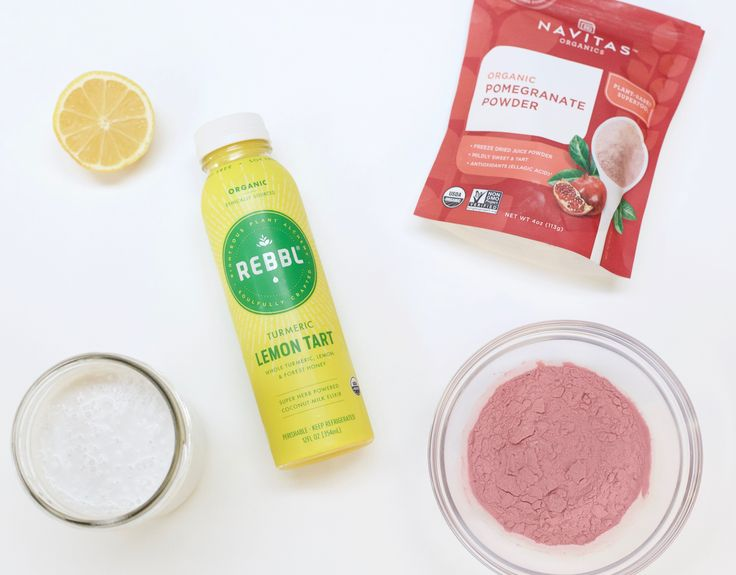 If the summer air has you craving a cold treat, try these Pomegranate Turmeric Lemon Pops from #rebbl! They're sweet — yet tart! — and are made with 6 simple ingredients. Plus, each pop is full of anti-inflammatory pomegranate, lemon, and turmeric PLUS adaptogens, substances that help your body respond to stress, better! A sweet treat that's also GOOD for you…that's better nutrition! #ad
