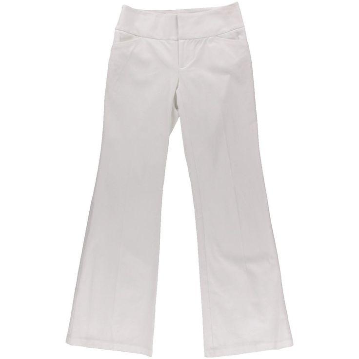 INC Womens Regular Fit Casual Wide Leg Pants