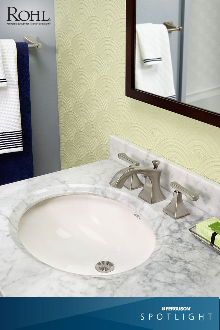 pictures to hang in master bathroom%0A The Matheson    Bathroom Suite from  rohlfaucets offers products with a solid  brass construction and