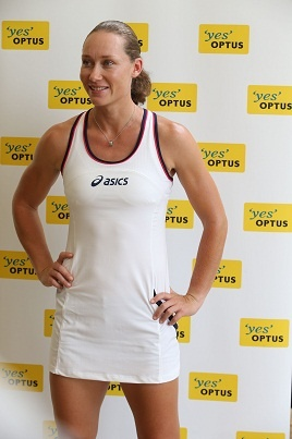 Introducing the Optus tennis ambassador for 2013 - Sam Stosur.