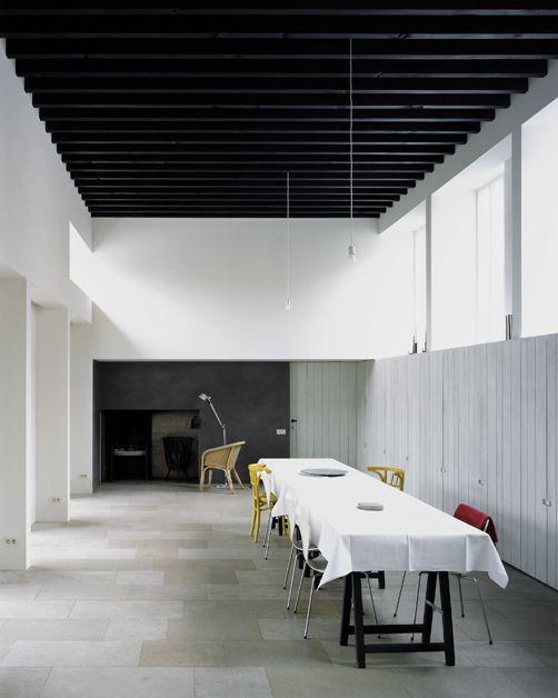 House on Pig Street - Ghent - Marie-José Van Hee - David Grandorge 2008