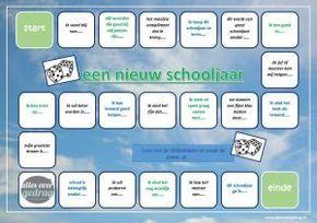 Start van het schooljaar spel