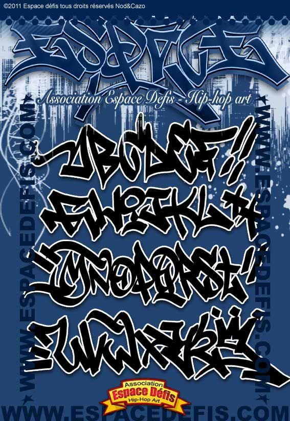 Les 25 meilleures id es de la cat gorie alphabet graffiti sur pinterest lettres en style de - Lettre graffiti alphabet ...