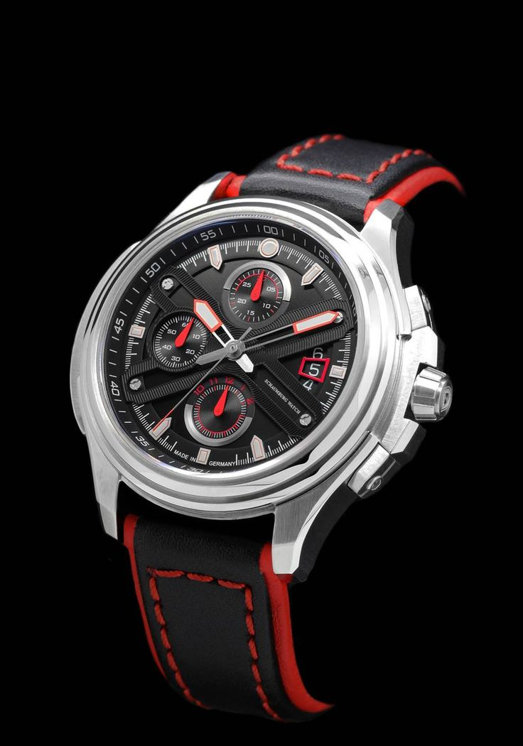 The new motorsport chronograph SuperCup from Schaumburg Watch.