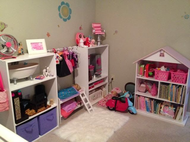 The Grasshopperu0027s Knee: American Girl Doll Storage