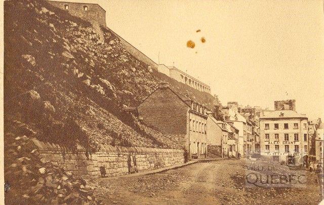 Petit-Champlain 1870. Ville de Québec - Fiche