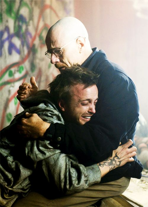Breaking Bad - Walter will always have a soft spot for Jesse - so much emotion packed into one still.