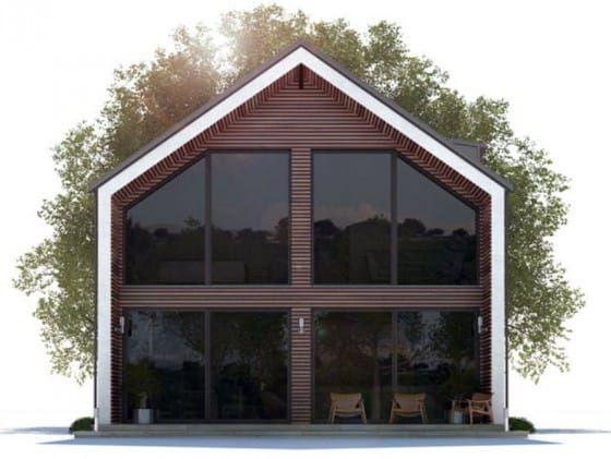 Parte 2: Casas econômicas com acabamentos modernos, sabem a melhor maneira de gastar pouco e adquirir muito   – Plans of House