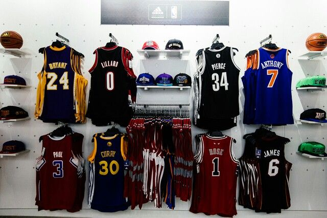 NBA apparel  Caps and jerseys  Swag