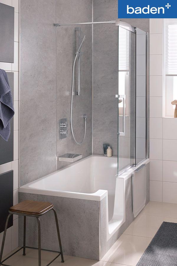 Super Veilig in bad als je ouder wordt | Bad douche combinatie, Badkamer XD-49