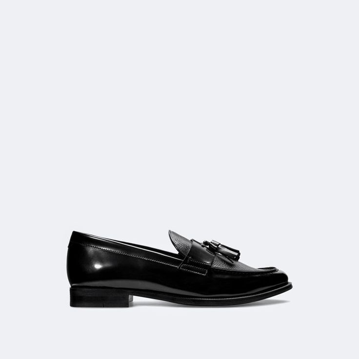 Cultures Hommes: Mocassins houppes Zara