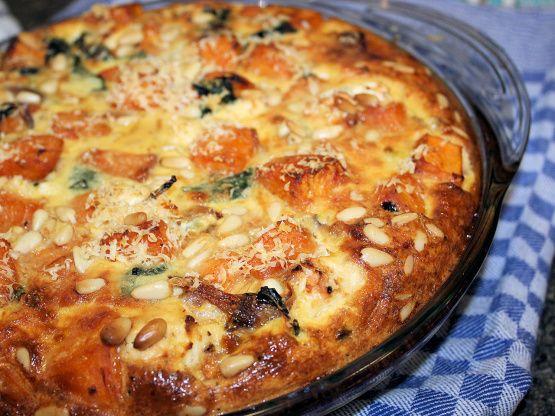 Feta, Sweet Potato And Spinach Crustless Quiche Gluten-Free) Recipe - Australian.Food.com