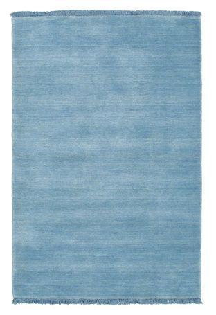 Handloom fringes - Vaaleansininen-matto 80x120