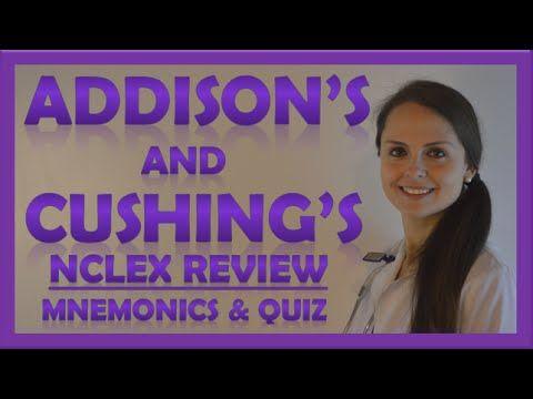 Cushings and Addisons Nursing   Addison's Disease vs Cushing's Syndrome ...