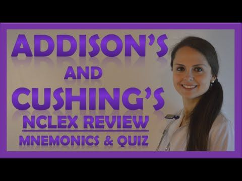 Cushings and Addisons Nursing | Addison's Disease vs Cushing's Syndrome ...