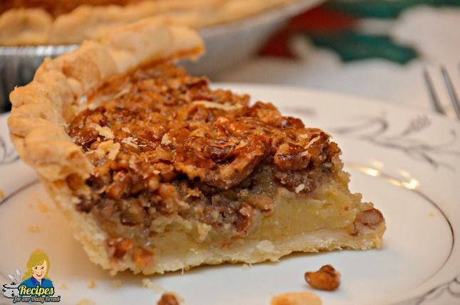 This recipe is a classic Southern Pecan Pie. It is made with simple ...
