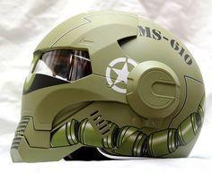 Le casque Masei 610 Atomic-Man s'inspire de la tenue métallique d'Iron-Man