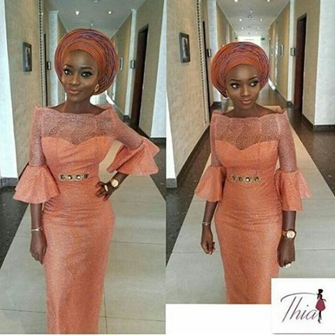 #asoebi #asoebispecial #speciallovers #wedding #makeover #dressby @thia._