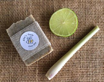 Citrus Zing soap, Handmade Soap, Natural Soap, Citrus Soap, Bar Soap, Cruelty Free, Natural Skincare, Soap, Exfoliating Soap, Homemade Soap