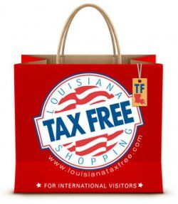 Louisiana Tax Free Shopping Program gives international visitors the opportunity to make tax-free purchases at more than 900 participating retailers throughout Louisiana. Visitors enjoy the convenience of applying for the sales tax refund in cash at four locations throughout the state.  The sales tax refund is provided on tangible items purchased at tax-free stores and permanently removed from the United States. There is no refund for sales taxes paid for personal services, such as: hotels…