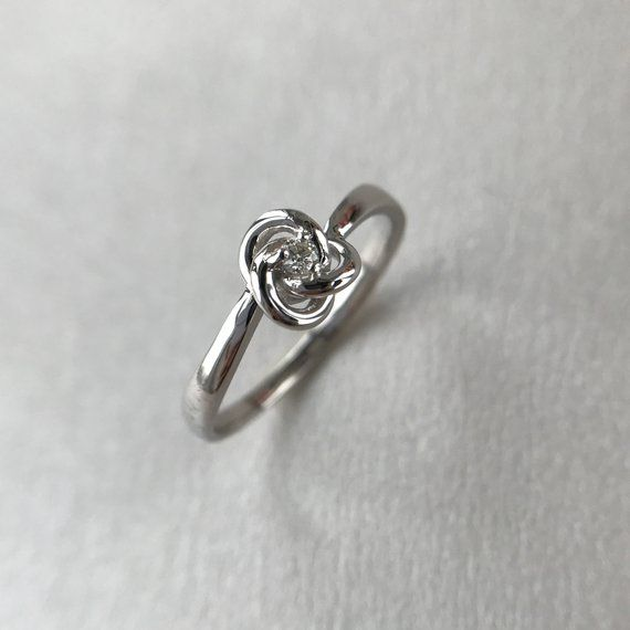 Celtic Knot Ring Alternative Engagement Ring Celtic Ring