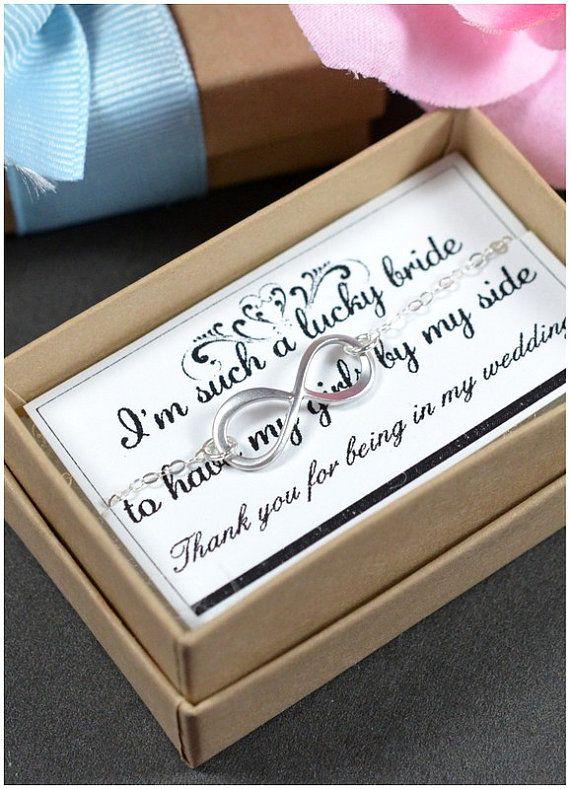 Bridesmaid gifts wedding jewelryInfinity by thefabjewelrywedding, $23.99