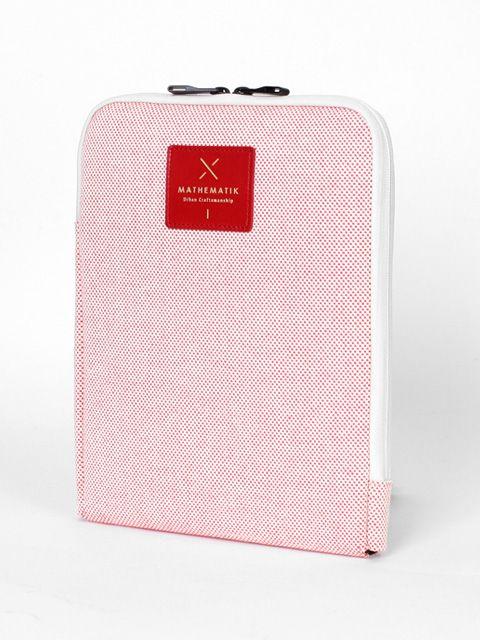 MATHEMATIK M1 Pouch Red Checker(Tablet PC case)
